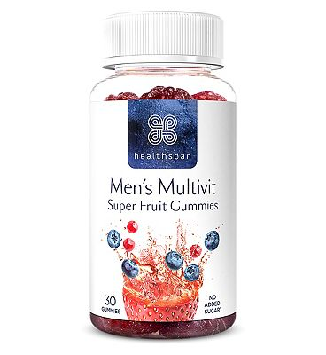 Healthspan Men's Multivit Super Fruit 30 Gummies