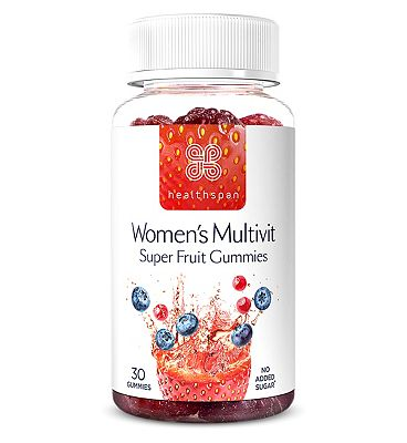 Healthspan Women's Multivit Super Fruit 30 Gummies