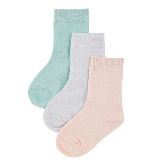 mini club all dressed up 3 pack socks