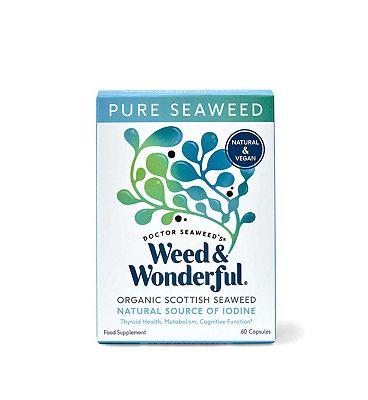 Doctor Seaweed's Weed & Wonderful Organic Scottish Seaweed 60 Capsules