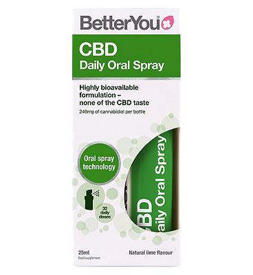BetterYou CBD Daily Oral Spray Lime 25ml