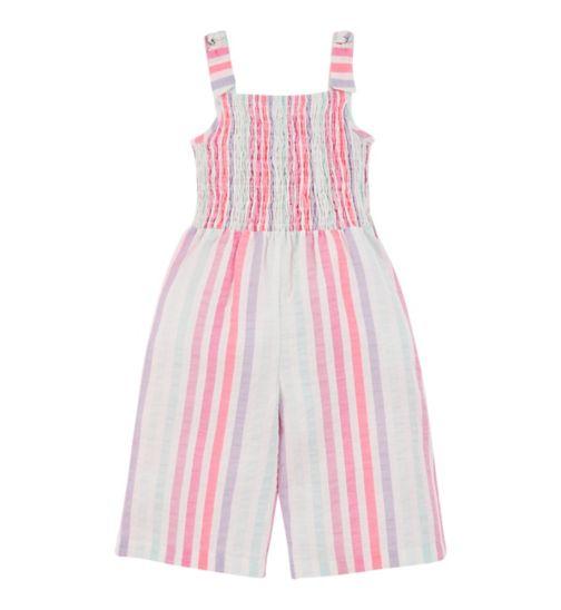 mini club all dressed up stripe jumpsuit