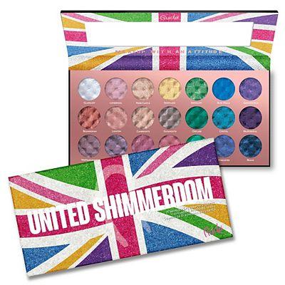 Rude United Shimmerdom - 21 Shimmer Eyeshadow Palette