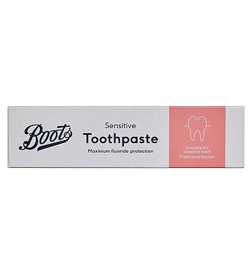 Boots Sensitive Toothpaste 100ml