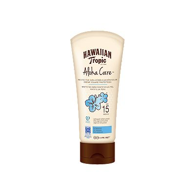 Hawaiian Tropic Aloha Care Protective Lotion SPF15 180ml