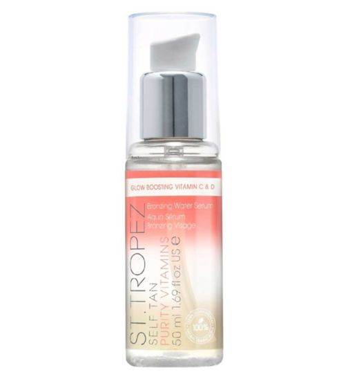 St.Tropez Self Tan Purity Vitamins Bronzing Water Face Serum 50ml