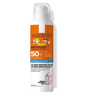 La Roche-Posay Anthelios Dermo-Kids SPF50+ Invisible Sun Cream Mist 125ml