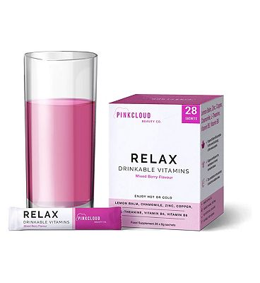 Pink Cloud Relax Drinkable Vitamins 28 Sachets