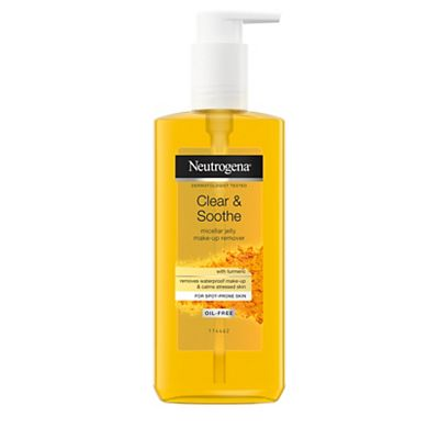 Neutrogena Clear & Soothe Jelly Micellar Make-up Remover 200ml