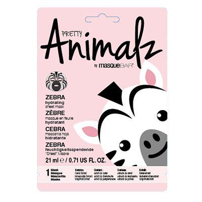 Masque Bar Pretty Animalz Zebra Mask