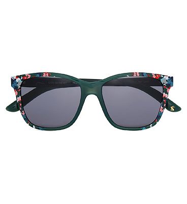 Joules Sunglasses Grizedale - Floral And Green Frame