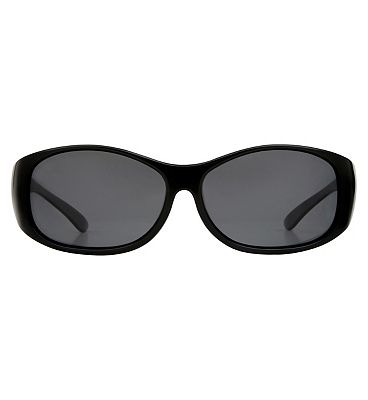 Boots Optical Cover Sunglasses - Shiny Black Frame