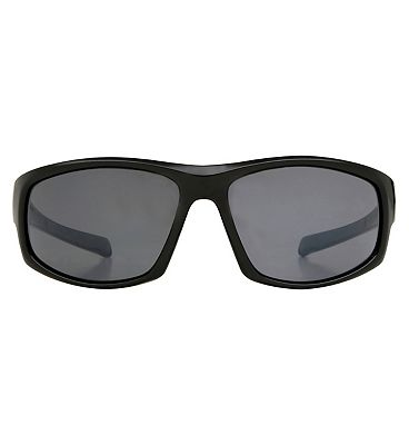 Boots Active Sunglasses - Black and Grey Frame
