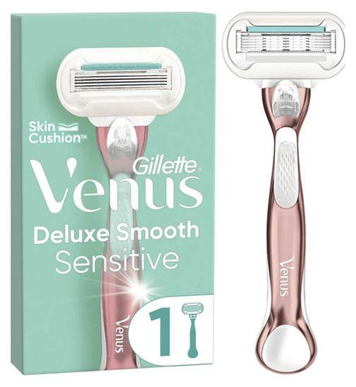 Venus Deluxe Smooth Sensitive RoseGold Razor
