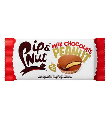Pip & Nut Milk Chocolate Peanut Butter Cups - 34g