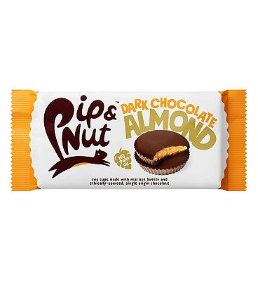 Pip & Nut Dark Chocolate Almond Butter Cups - 34g