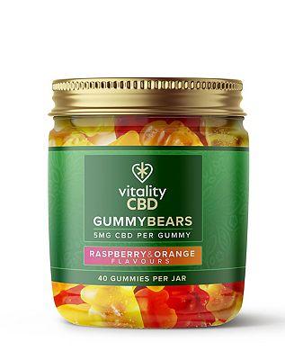 Vitality CBD Gummy Bears 5mg CBD 40 Gummies