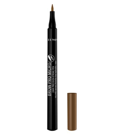 Rimmel London Brow Pro Micro 24HR Precision-Stroke Brow Liner Pen
