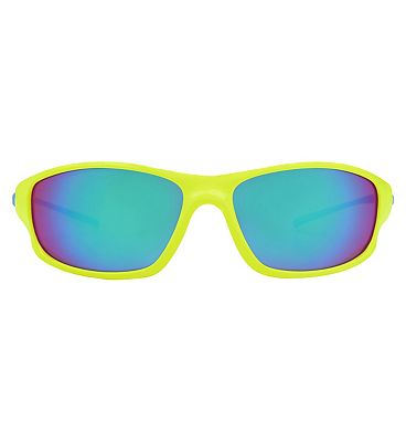 Boots Active Sunglasses - Yellow and Blue Frame