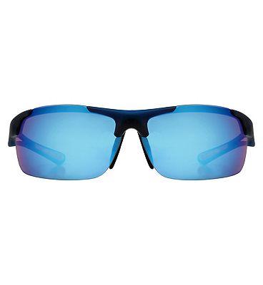 Boots Active Sunglasses - Crystal Matt Blue Frame