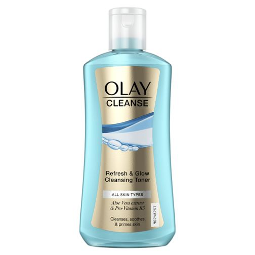Olay Cleanser, Refresh & Glow Cleanser Toner, All Skin Types, 200ml