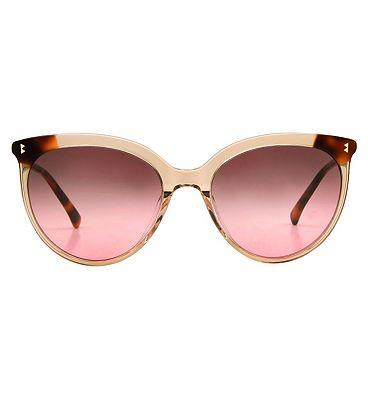 Whistles Sunglasses - Crystal Light Brown Tortoiseshell Frame
