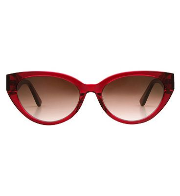 Whistles Sunglasses - Crystal Red Frame
