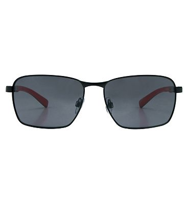 Boots Active Sunglasses - Black and Red Frame