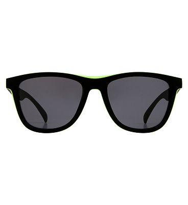 Boots Active Sunglasses - Black and Neon Yellow