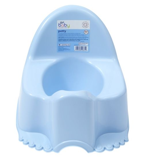 Boots Baby Potty - Blue