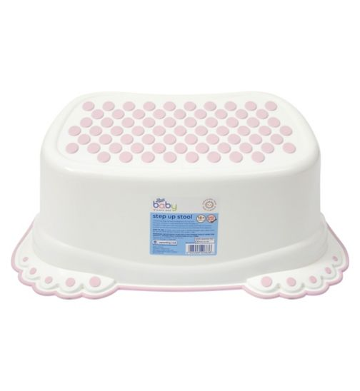 Boots Baby Step Up Stool - Pink
