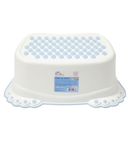 Boots Baby Step Up Stool - Blue
