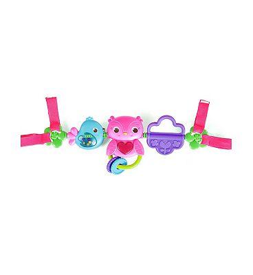 Bright Starts Birdies Carrier Toy Bar