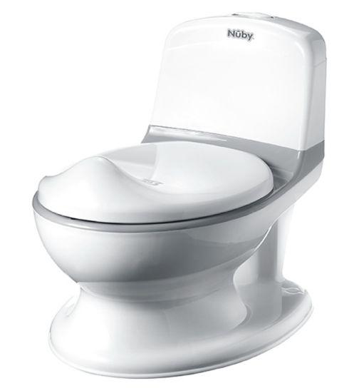 Nuby My Real Potty Mini Size Toilet