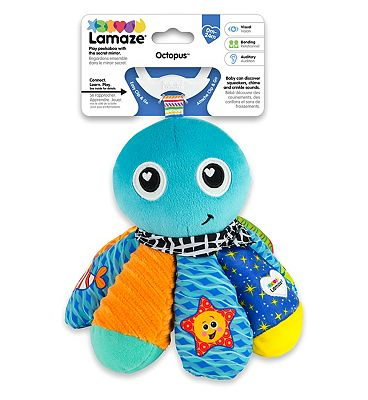 Lamaze Clip & Go - Salty Sam Soft Toy