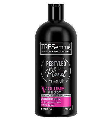 Tresemme 24 Hour Body With Silk Proteins Shampoo 800ml