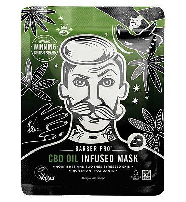 Barber Pro CBD Oil Mask