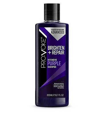 PRO:VOKE TOUCH OF SILVER Strengthening Purple Shampoo 200ml