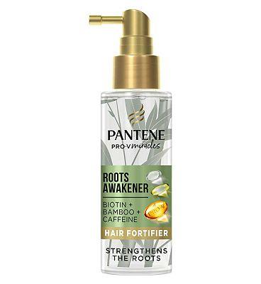 Pantene Grow Strong Roots Awakener Hair Fortifier, Biotin Bamboo And Caffeine, 100ml