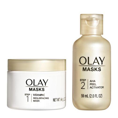 Olay Radiant AHA Resurfacing Peel Face Mask with Citrus Fragrance