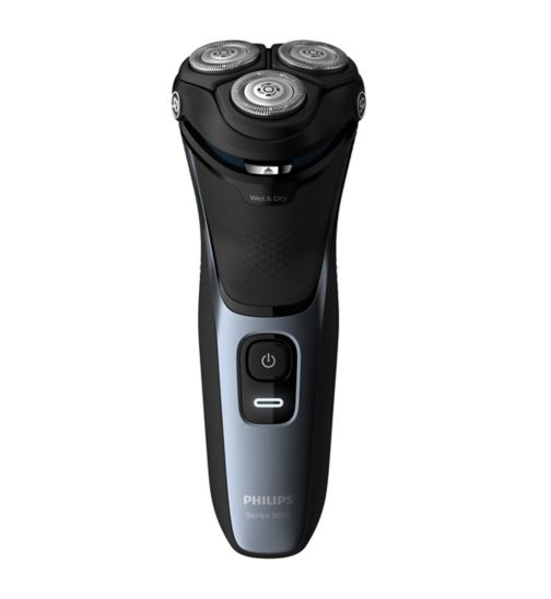 Philips Series 3000 Wet or Dry Men's Electric Shaver with a 5D Pivot & Flex Heads S3133/51