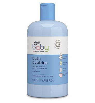 Image of Boots Baby bath bubbles 500ml