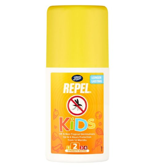 Boots Repel Kids PMD Pump Spray 100ml