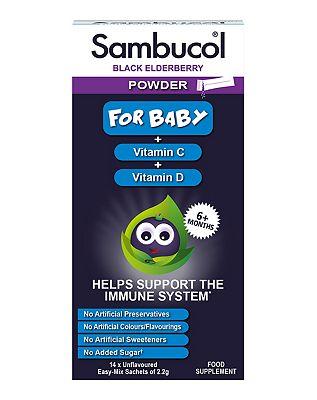 Sambucol Powder For Baby 14 Sachets