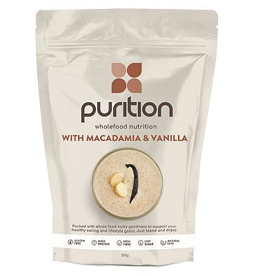 Purition Original Wholefood Nutrition with Macadamia & Vanilla - 250g