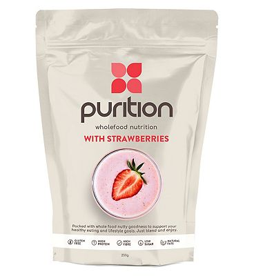 Purition Original Wholefood Nutrition with Strawberries - 250g