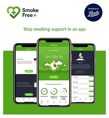 Smoke Free+ Giftcard - Stop smoking support in an app