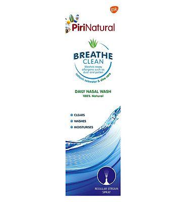 PiriNatural Breathe Clean Daily Nasal Wash - 100ml