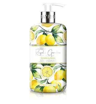 Baylis & Harding Royale Garden Lemon & Basil 500ml Hand Wash