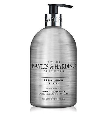 Baylis & Harding Elements Lemon & Mint 500ml Hand Wash
